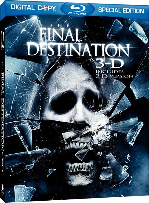 Carátula El destino final 3D Blu-ray