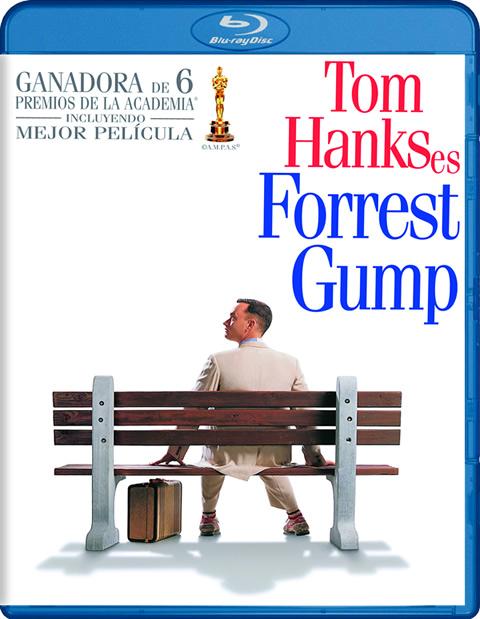 Carátula Forrest Gump Blu-ray
