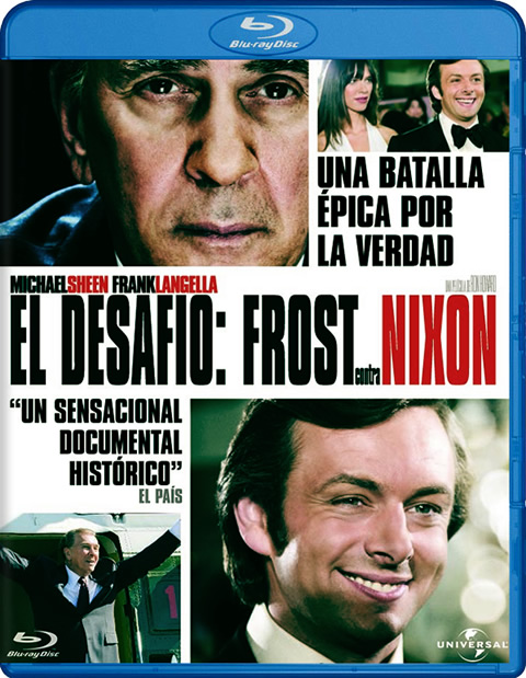 Carátula Frost contra Nixon Blu-ray