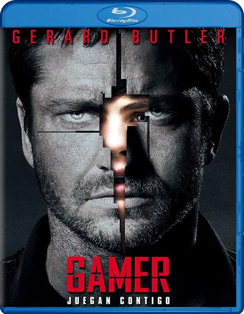 Carátula Gamer Blu-ray alquiler