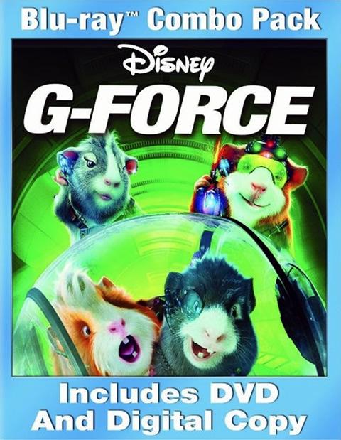 Carátula G-Force: Licencia para espiar Blu-ray