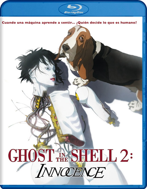 Carátula Ghost in the Shell 2 Innocence Blu-ray