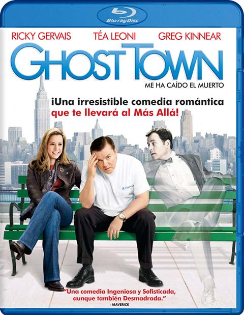 Carátula Ghost Town Blu-ray