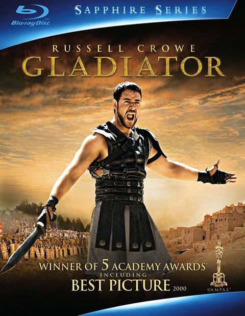 Carátula Gladiator Blu-ray