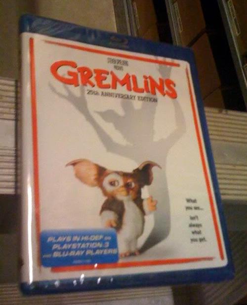 Carátula Gremlins Blu-ray USA