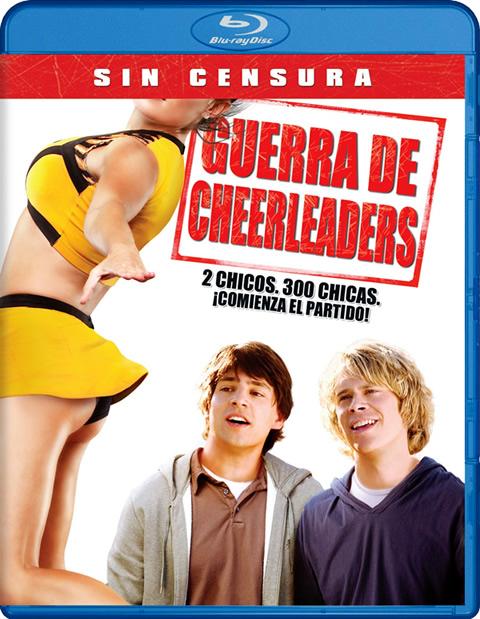 Carátula Guerra de cheerleaders Blu-ray