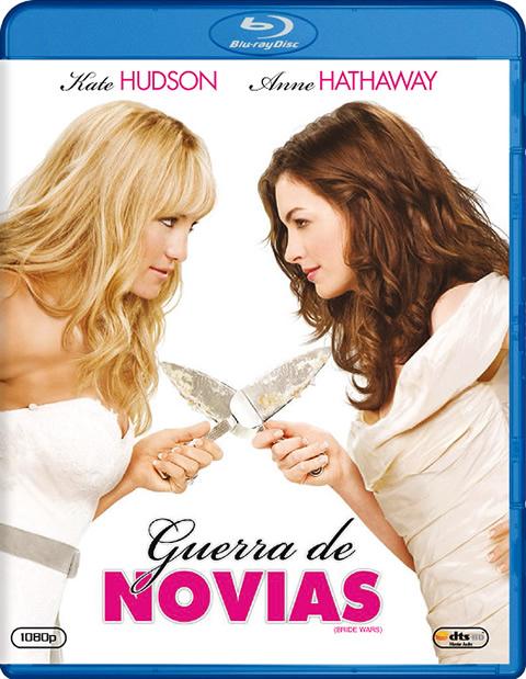 Carátula Guerra de novias Blu-ray