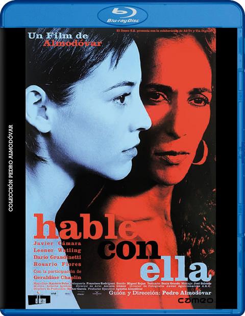 Carátula Hable con ella Blu-ray