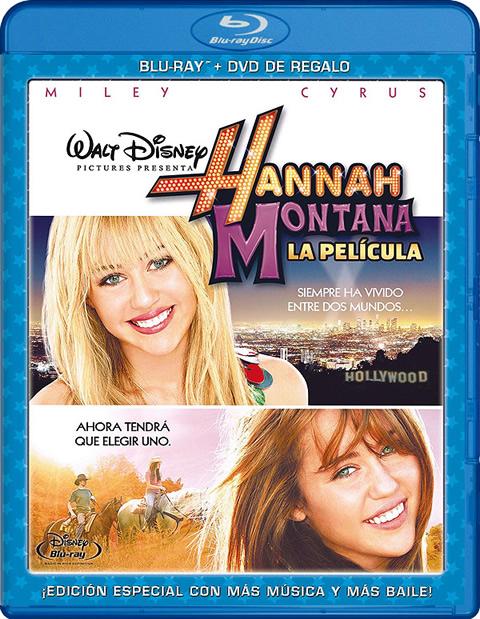 Carátula Hannah Montana La película Blu-Ray