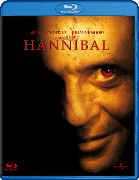 Carátula Hannibal Blu-ray