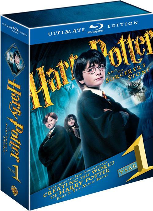 Carátula Harry Potter y la piedra filosofal Edición especial Blu-ray
