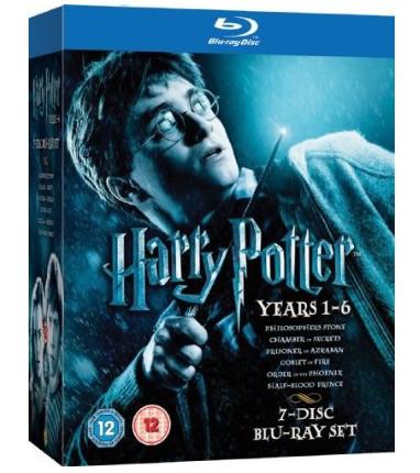 Oferta Harry Potter 1 a 6 Blu-ray