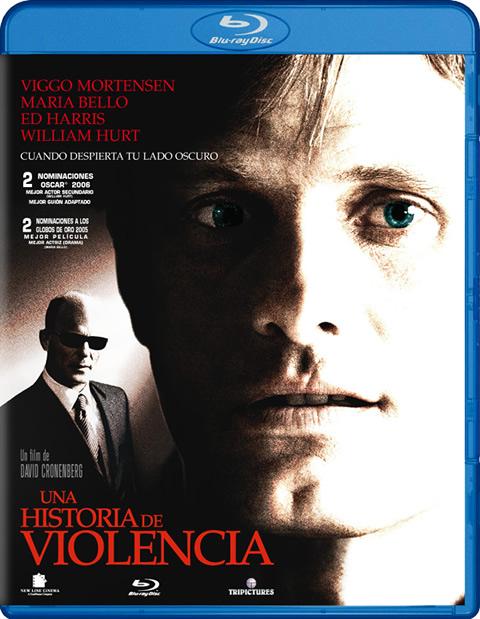 Carátula Una historia de violencia Blu-ray