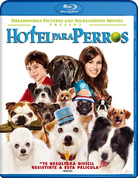 Carátula Hotel para perros Blu-ray