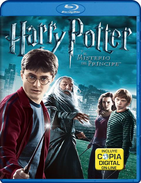 Carátula Harry Potter y el misterio del Príncipe Blu-ray