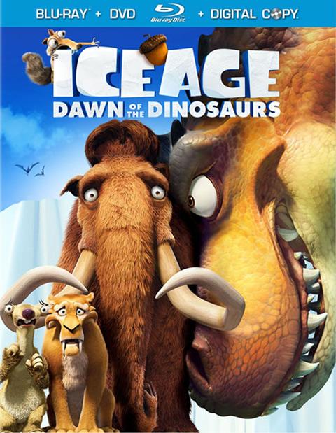 Carátula Ice Age 3 Blu-ray