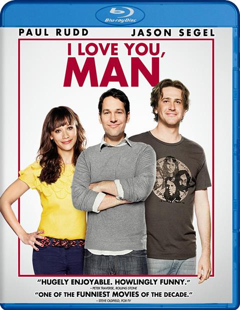 Carátula Te quiero, tío Blu-ray