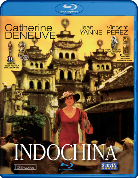 Carátula Indochina Blu-ray