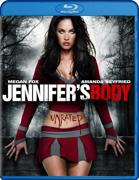 Carátula Jennifer's Body Blu-ray