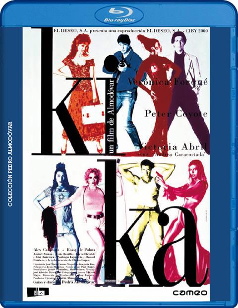 Carátula Kika Blu-ray