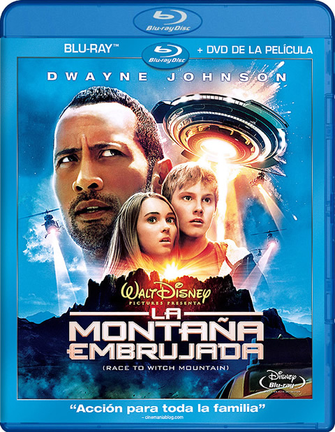 Carátula La montaña embrujada Blu-ray