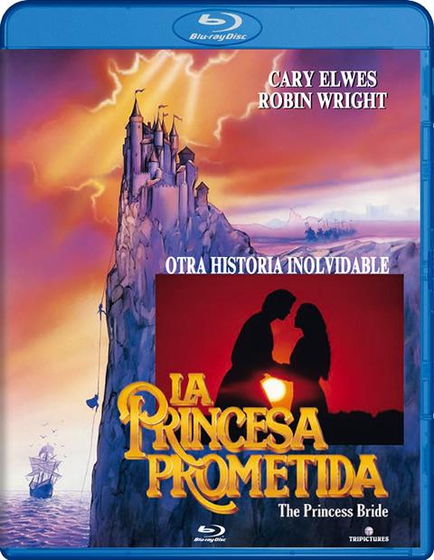 Carátula La princesa prometida Blu-ray