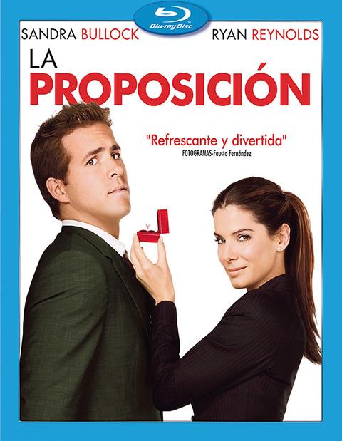 Carátula La proposición Blu-ray