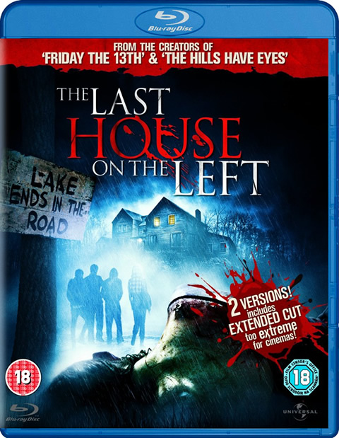 Carátula La última casa a la izquierda Blu-ray