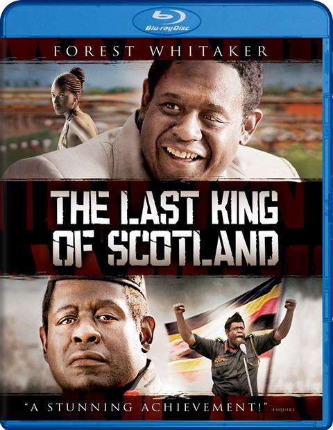 Carátula El último rey de Escocia Blu-ray
