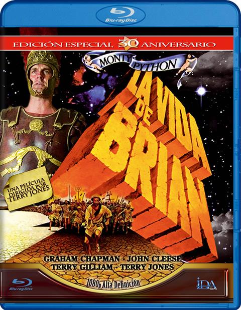 Carátula La vida de Brian Blu-ray