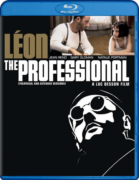Carátula León el profesional Blu-ray