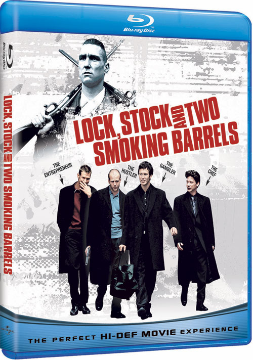 Carátula Lock & Stock Blu-ray USA