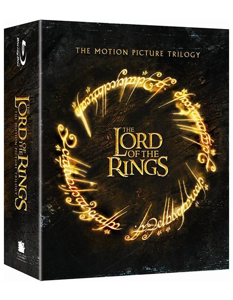 Carátula El señor de los anillos: La trilogía en Blu-ray