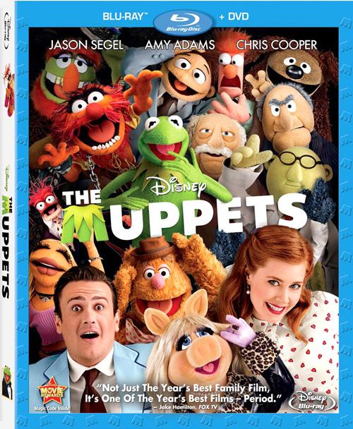 Los Muppets: Carátulas De Su Lanzamiento En Blu-ray En
