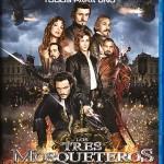 Los Tres Mosqueteros de Paul W.S. Anderson, en Blu-ray y Blu-ray 3D el 27 de marzo