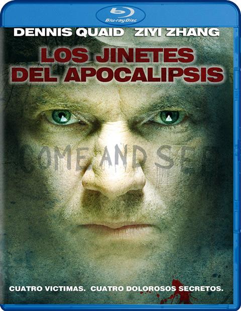 Carátula Los jinetes del Apocalipsis Blu-ray