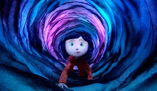 Carátula Los mundos de Coraline Blu-ray