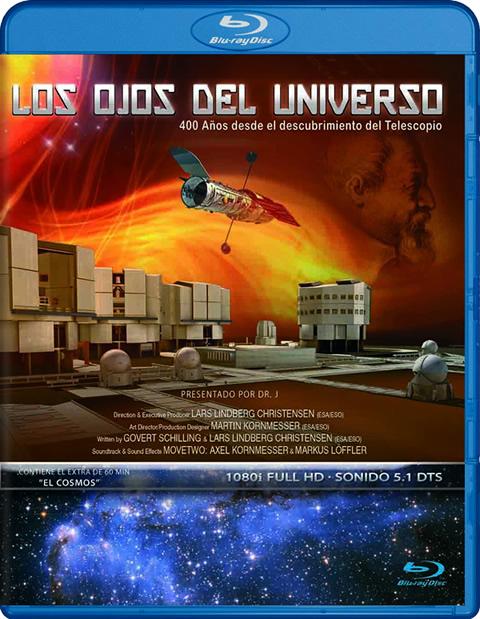 Carátula Los ojos del Universo Blu-ray