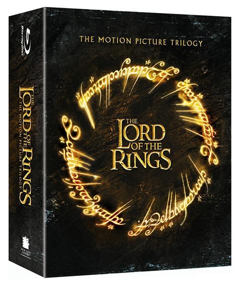 Carátula El señor de los anillos Blu-ray