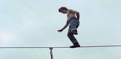 Carátula Man on Wire Blu-ray