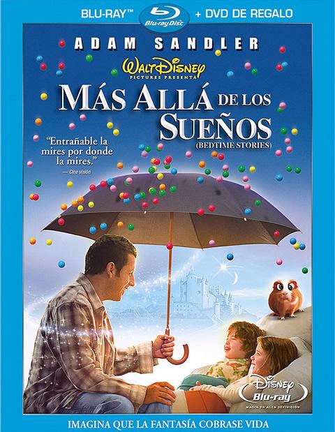Carátula Más allá de los sueños Blu-ray