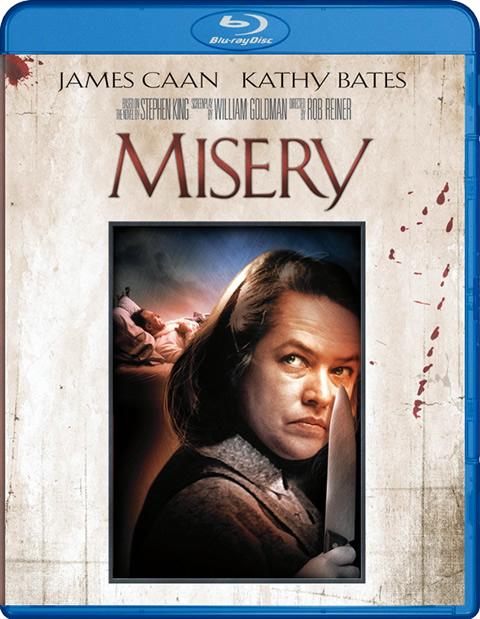 Carátula Misery Blu-ray