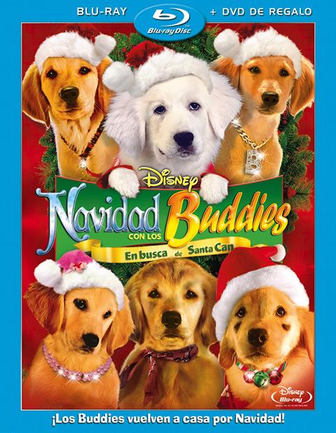 Carátula Navidad con los Buddies Blu-ray