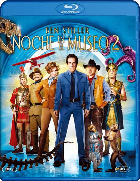 Carátula Noche en el museo 2 Blu-ray