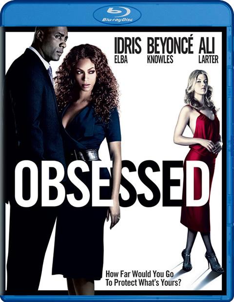 Carátula Obsesionada Blu-ray