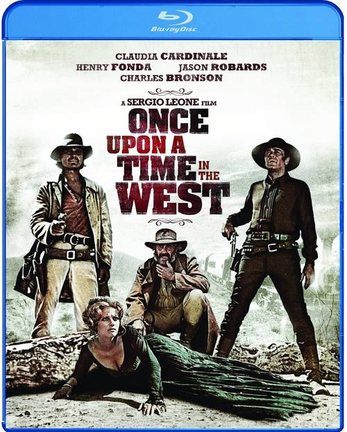 Carátula oficial de Once Upon a Time in the West en USA