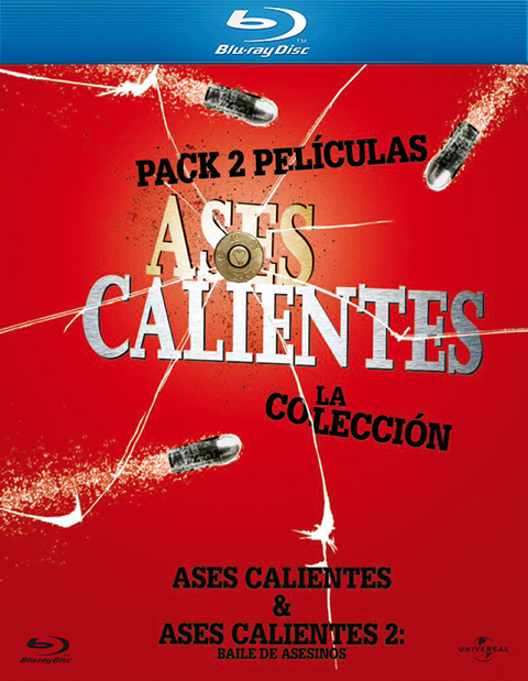 Carátula Pack Ases calientes Blu-ray