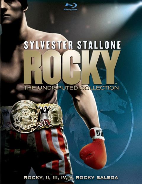 Carátula Pack Rocky Blu-ray