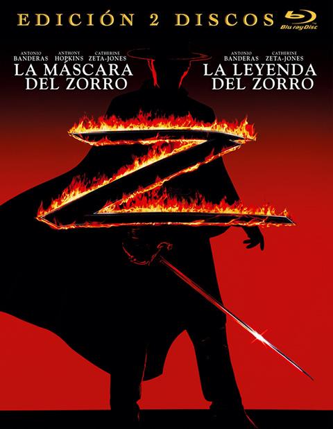 Aspecto Pack Zorro Blu-ray