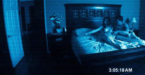 Carátula Paranormal Activity Blu-ray
